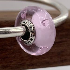 Pandora Abstract silver charm #791632PCZ
